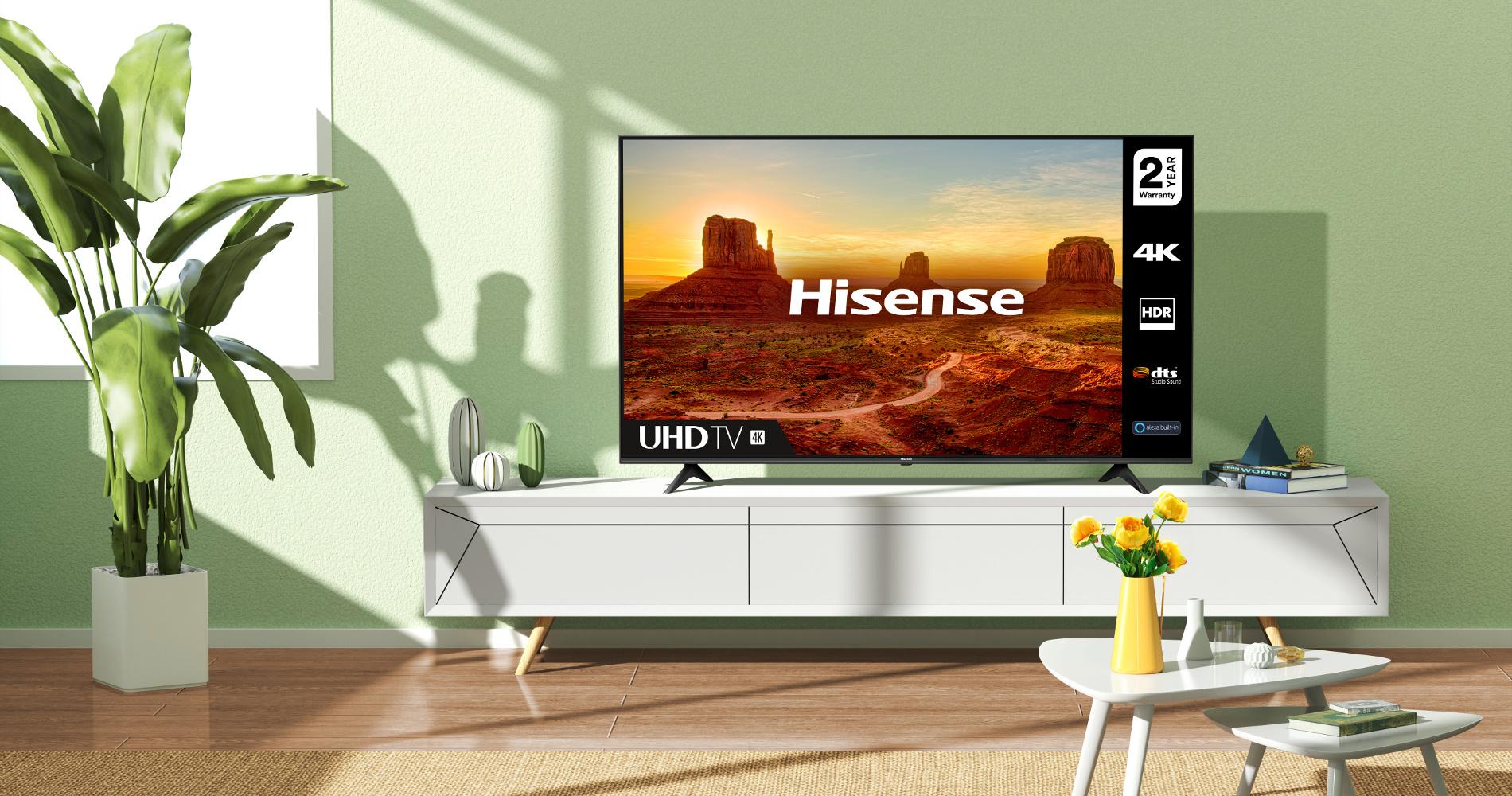 Hisense 4K UHD A7 TV