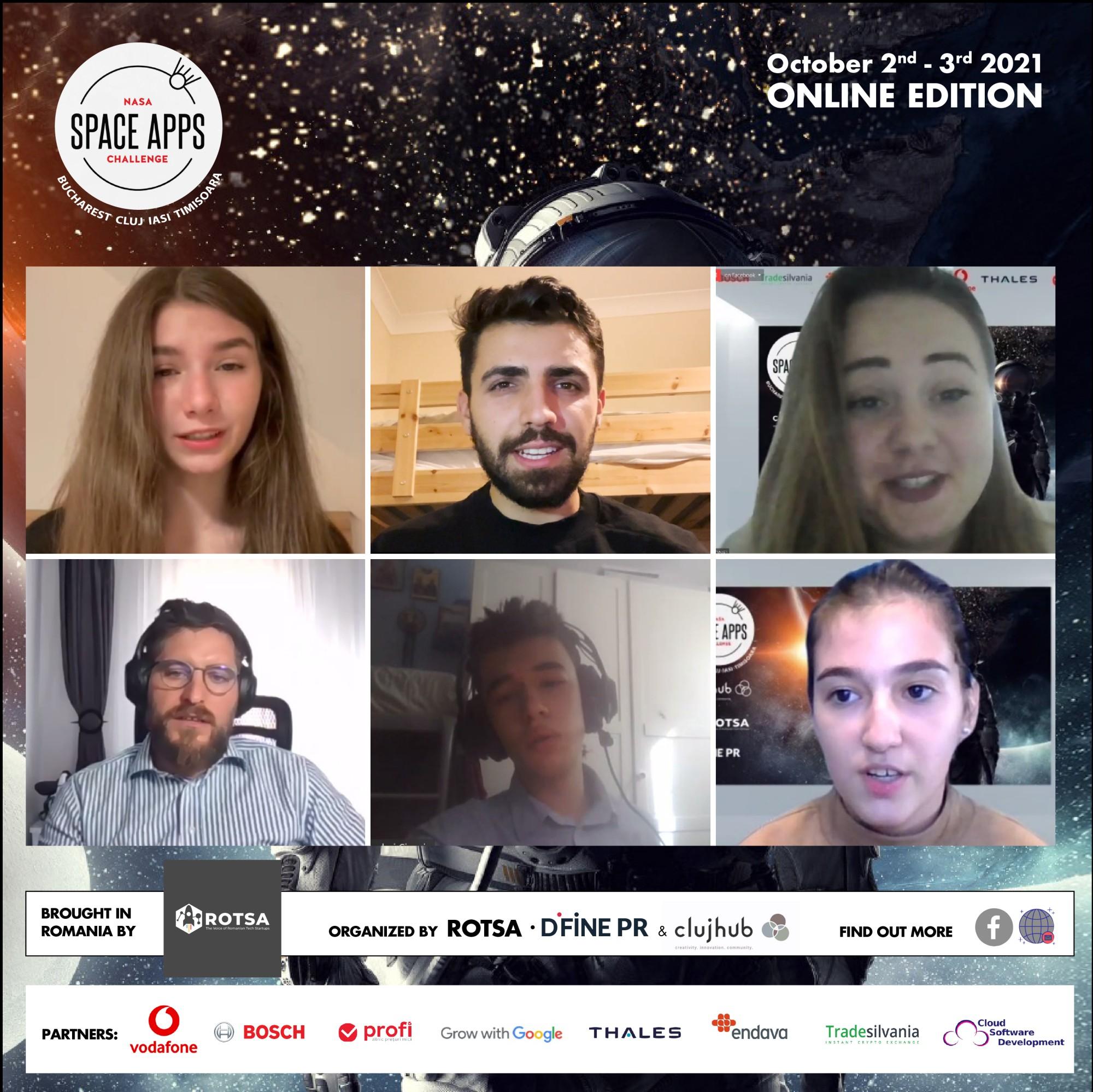 câștigătorii NASA Space Apps Challenge 2021