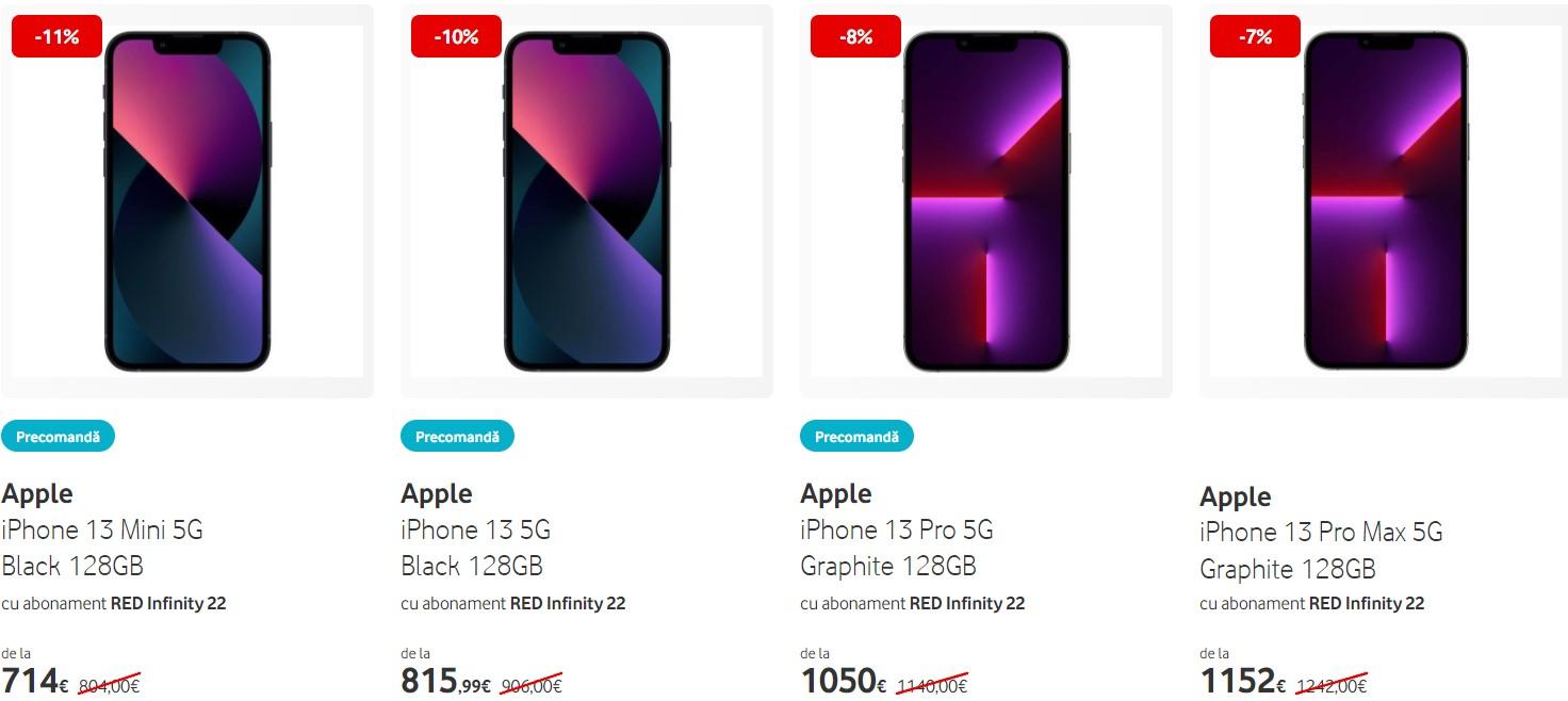 iphone 13 Vodafone